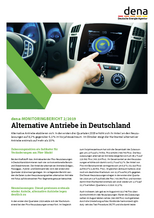 dena-Monitoringbericht 2/2019: Alternative Antriebe in Deutschland