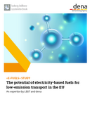STUDY: E-Fuels – The potential of electricity based fuels for low emission transport in the EU