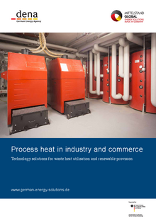 Broschüre: Process heat in industry and commerce