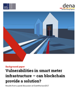 Vulnerabilities in smart meter infrastructure – can blockchain provide a solution?