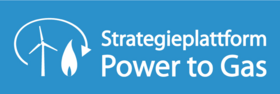 Logo Strategieplattform Power to Gas