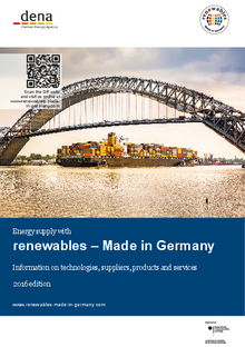 Anbieterkatalog und Flyer: renewables – Made in Germany.