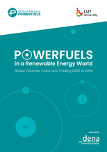 Study: Powerfuels in a Renewable Energy World – Global Volumes, Costs and Trading 2030 to 2050