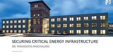 Securing Critical Energy Infrastructure