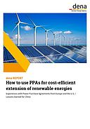 dena-REPORT: How to use PPAs for cost-efficient  extension of renewable energies