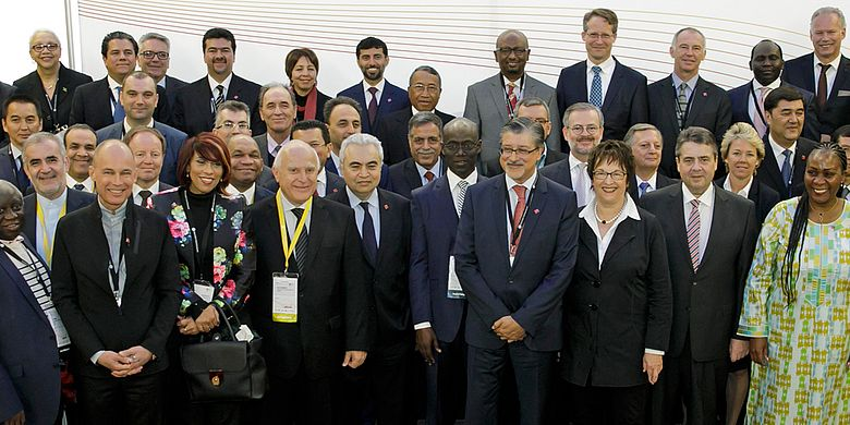 Gruppenfoto Berlin Energy Transition Dialogue BETD 2017