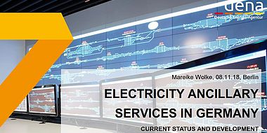 Electricity Ancillary Services in Germany – Current Status and Development