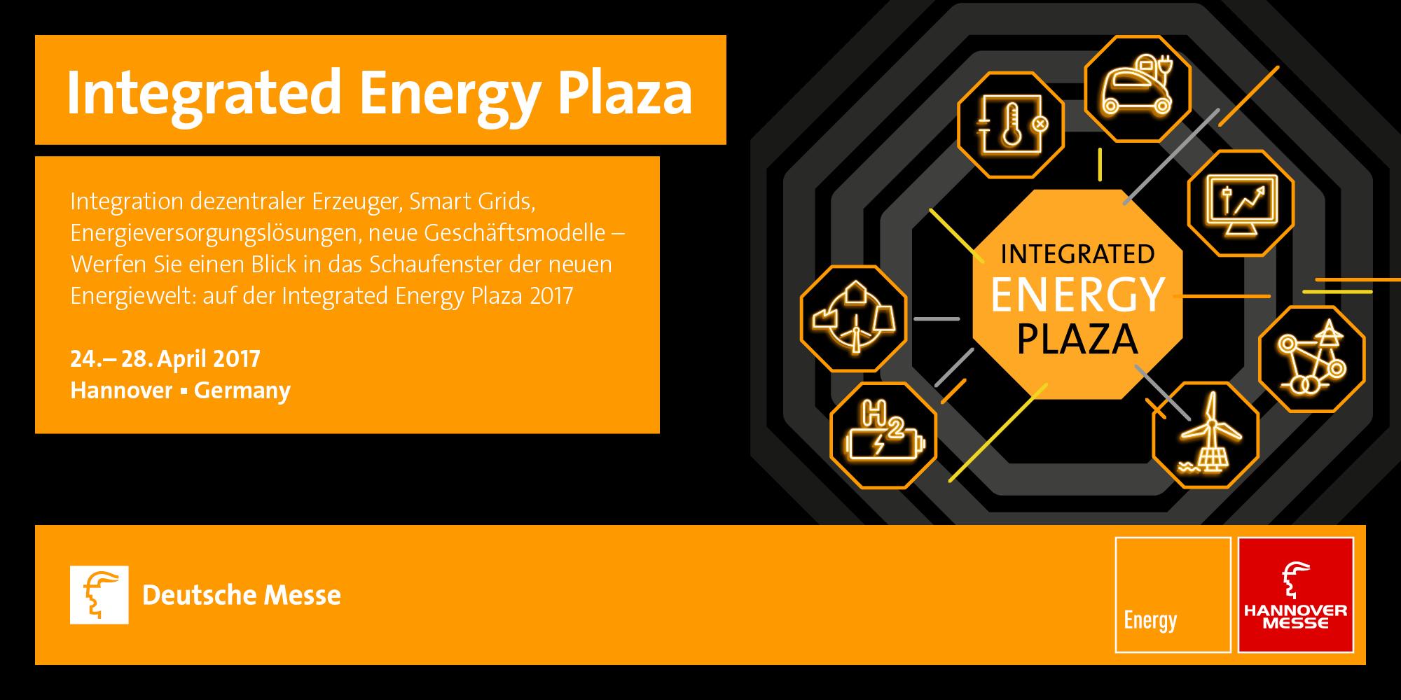 hannover messe 2017 integrated energy plaza und sonderschau digital energy deutsche energie. Black Bedroom Furniture Sets. Home Design Ideas